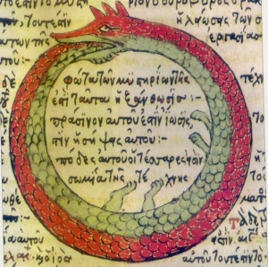 The Ouroboros - the symbol for cyclical self-creation